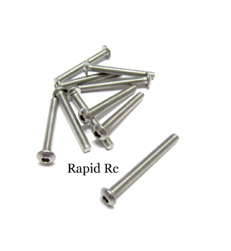 M3x30mm Stainless Steel Socket Button head Bolt